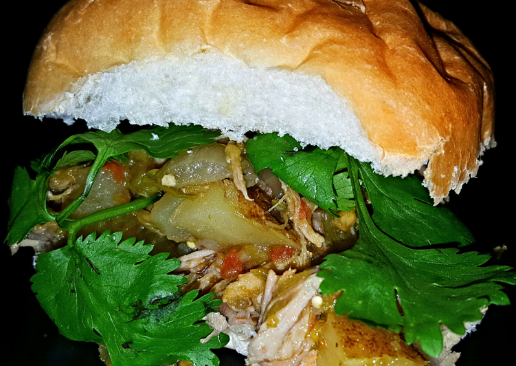 What are some Dinner Easy Spring Mike's [2 Way] Green Chile Pulled Pork Sandwiches & Stew