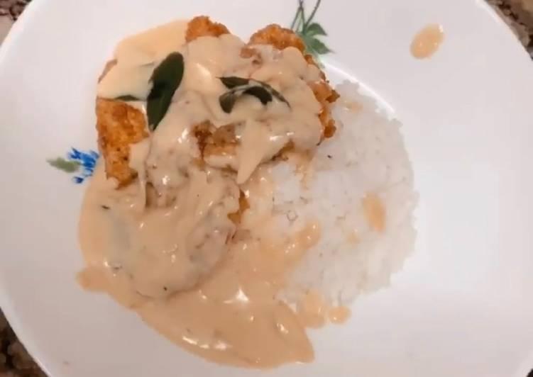 Resepi:  Butter chicken (thick soup)  Termudah