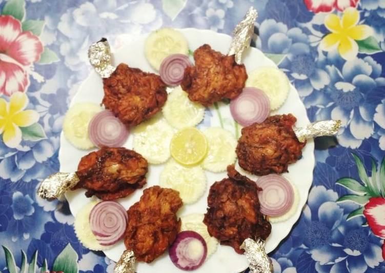 Recipe: Exquisite Homemade chicken lollipop