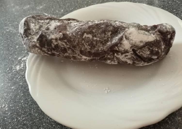 Salame al cioccolato e cocco