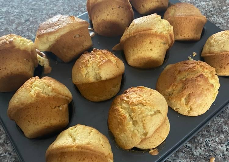 Recipe of Ultimate Sponge vanilla muffins