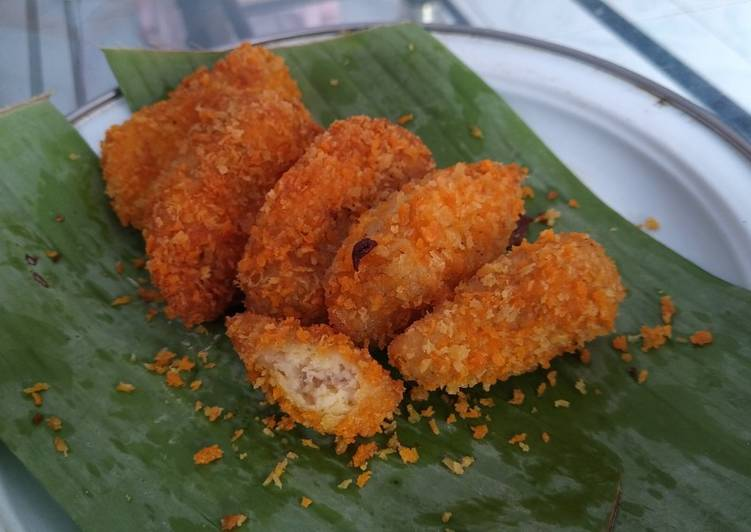 3. Ayam Tempe Gulung (Rolade Ayam Tempe) Double Protein