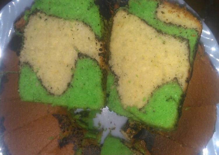 Topo Map Chiffon Cake