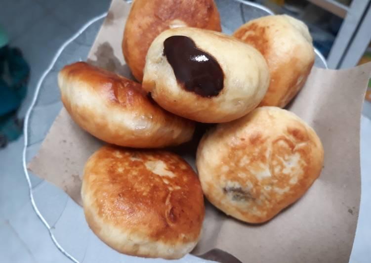 Resep Roti Goreng isi Coklat Anti Gagal