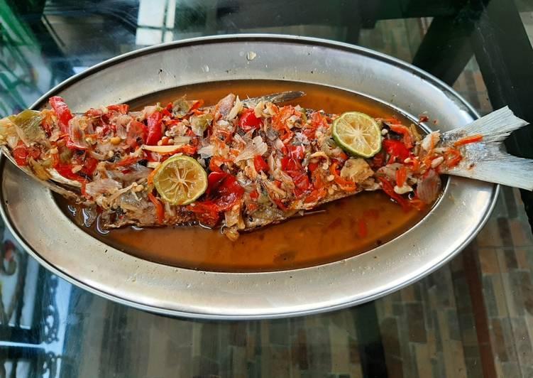 Pecak ikan bandeng