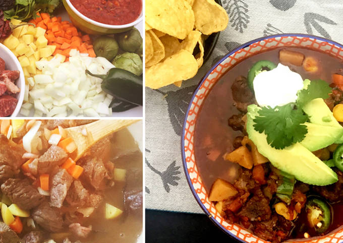 Mexican Stew with Fullblood Wagyu Beef