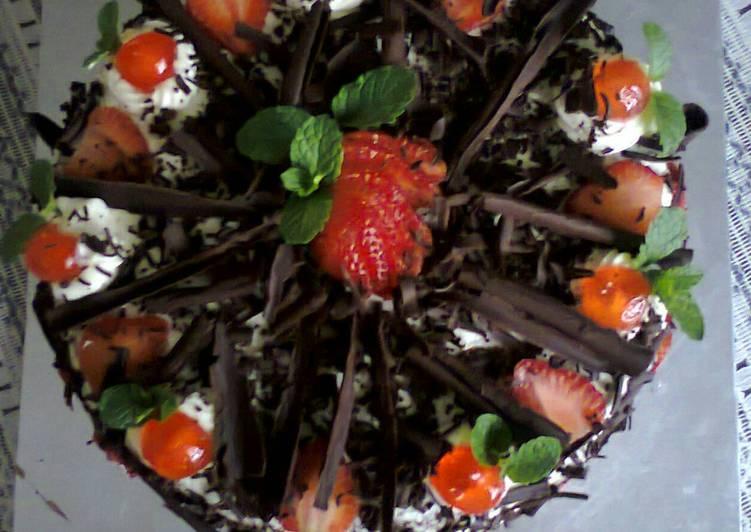 Black Forest Cake# festivecontest _Kisumu