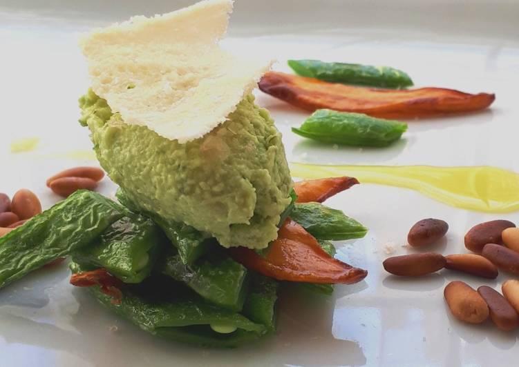 Ricetta Amuse Bouche di Pesto alla Lericina