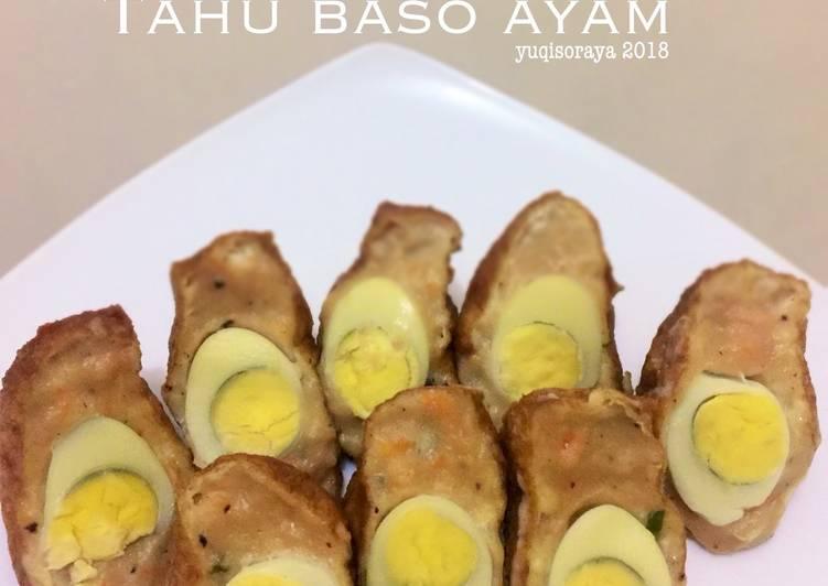 Tahu Baso Ayam Puyuh