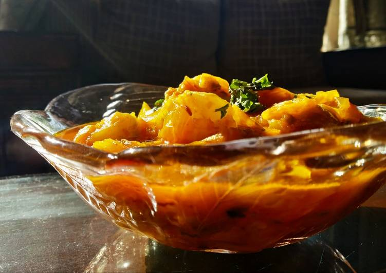 Summer squash curry