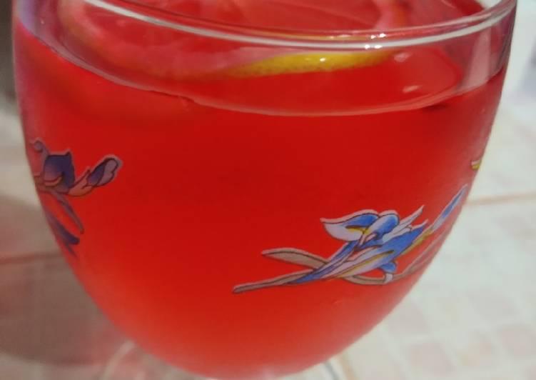 Sirap pandan Lemon #maratonraya - resepipouler.com