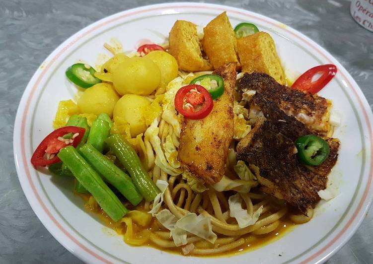 Recipe: Perfect Nyonya Curry Noodles