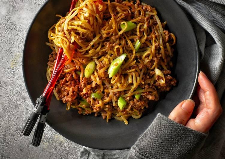 My Dan Dan Inspired Noodles (Dry Style)