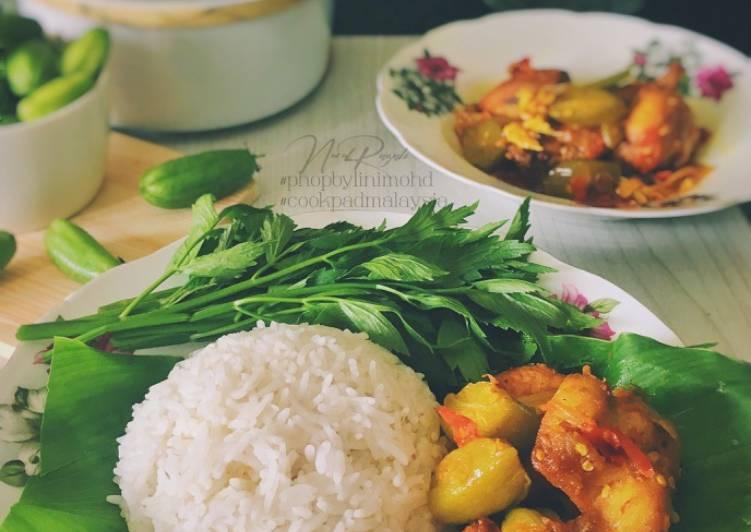 Sambal Ayam Belimbing dan Nasi Putih #phopbylinimohd #task1 - velavinkabakery.com