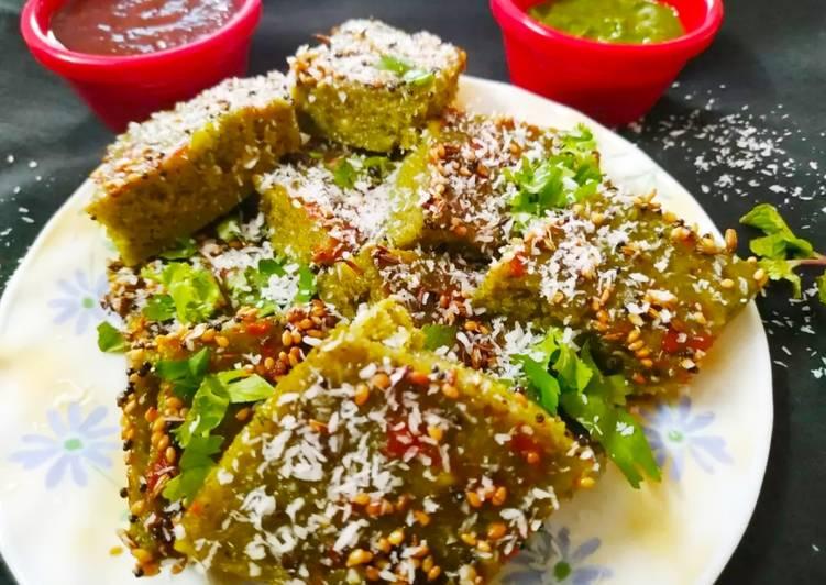 Best Comfort Dinner Ideas Diet Perfect Hariyali dhokla