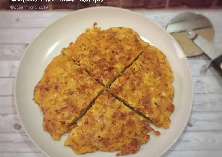 Resep Omelet Mie Telur Kornet Yang Mudah Enak