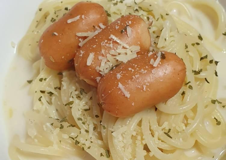 Simple Way to Make Perfect One Pot Creamy Spaghetti