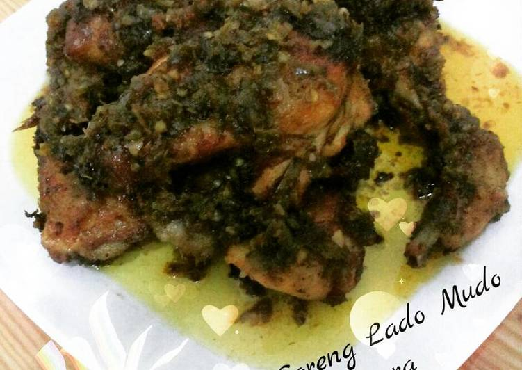 Ayam Goreng Lado Mudo (Cabe Hijau)