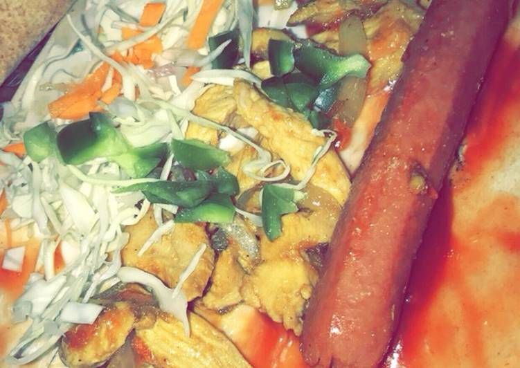 Chicken shawarma 🤤