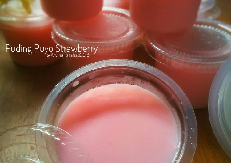 Puding Puyo Strawberry