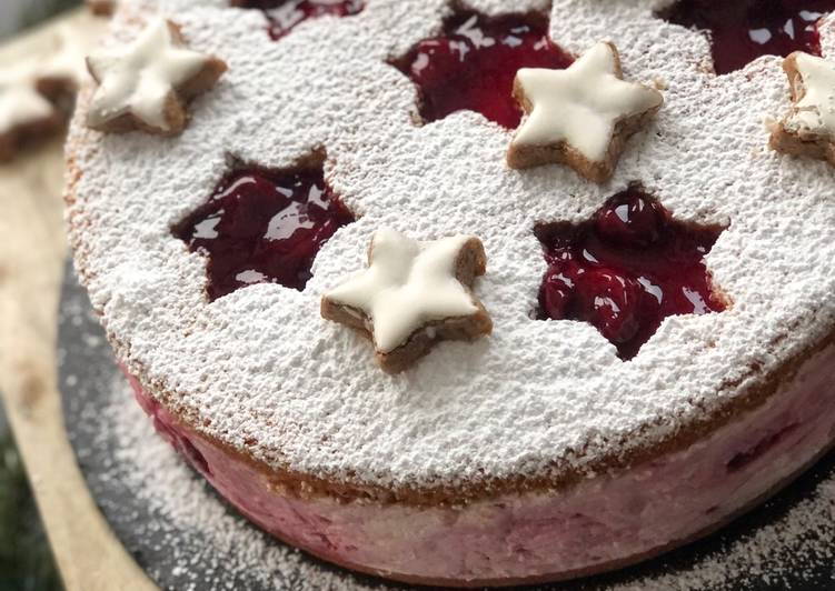 Weihnachtliche Käse-Sahne-Spekulatius-Torte ✨