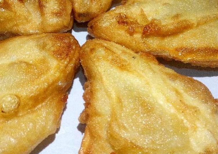 Pisang goreng kipas – Resep membuatnya