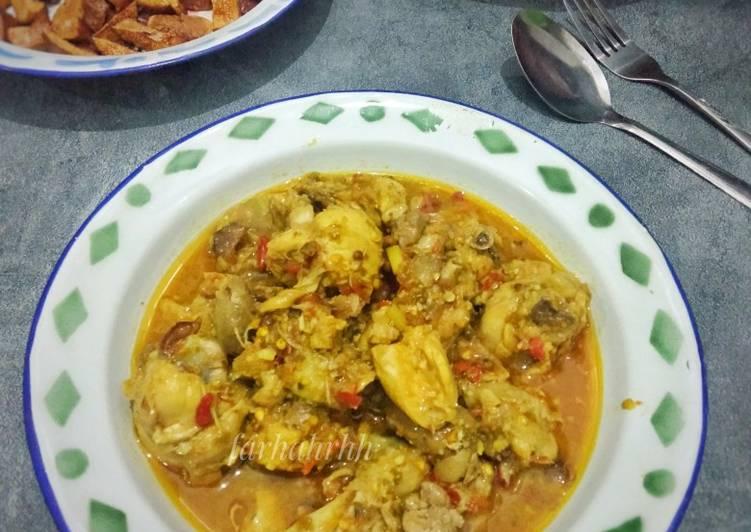 Oblok Ayam Betawi