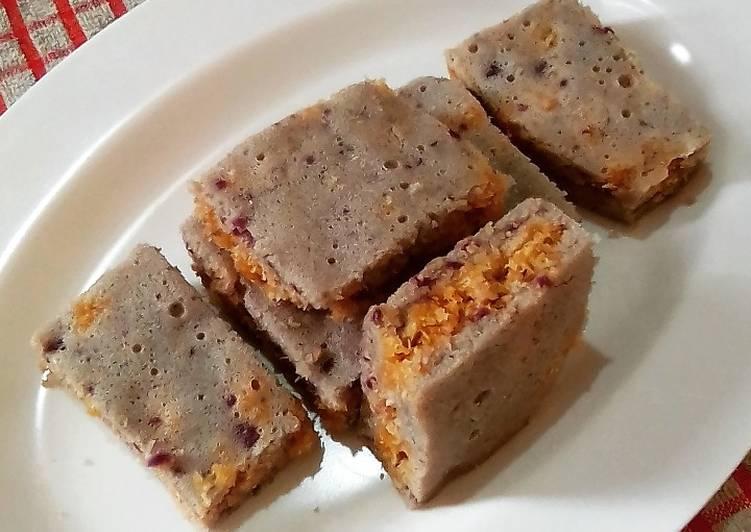Resep Cake Klepon Ubi Ungu