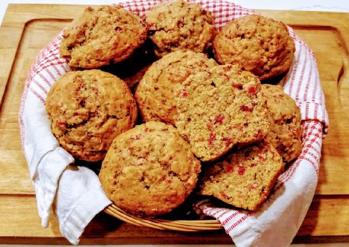 Brandied Cranberry Orange Marmalade Muffins