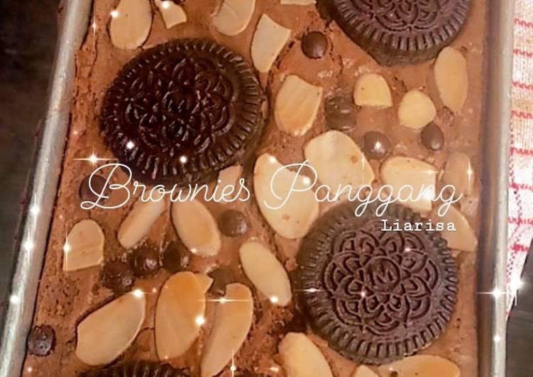 Brownies Panggang Almond
