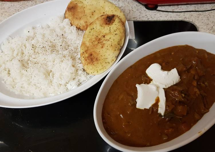 My Hot But Tasty Beef Tomato Curry. 😁