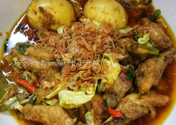 Resep Tongseng Ayam Telur Oleh Mamae Kirei Cookpad