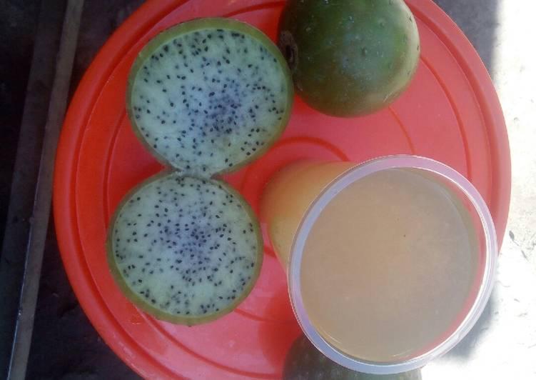 Refresco de la fruta de sanki