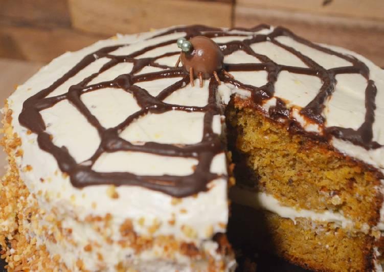 Carrot Cake d'Halloween 🕷🕸