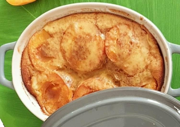recette Clafoutis à l'abricot Le plus simple