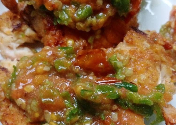 Resep Ayam Penyet by. Mama Lio Anti Gagal