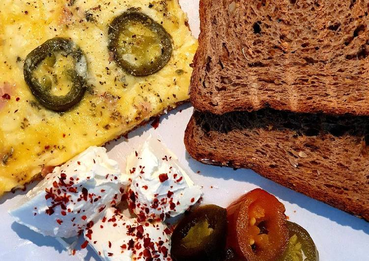How to Prepare Perfect Jalapeño omelette 🍳