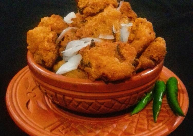 Turn to Food to Elevate Your Mood Piyaju (Red Lentil & Onion fritters)