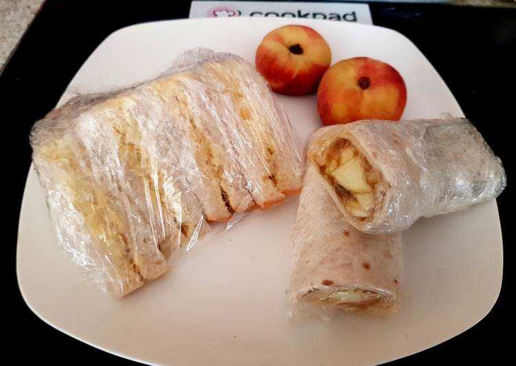 Easiest Way to Make Speedy My Apple&Sauce wrap an also Egg&Sweetcorn Sandwich childs picnic
