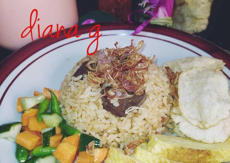 Nasi Kebuli Sapi(ricecooker)