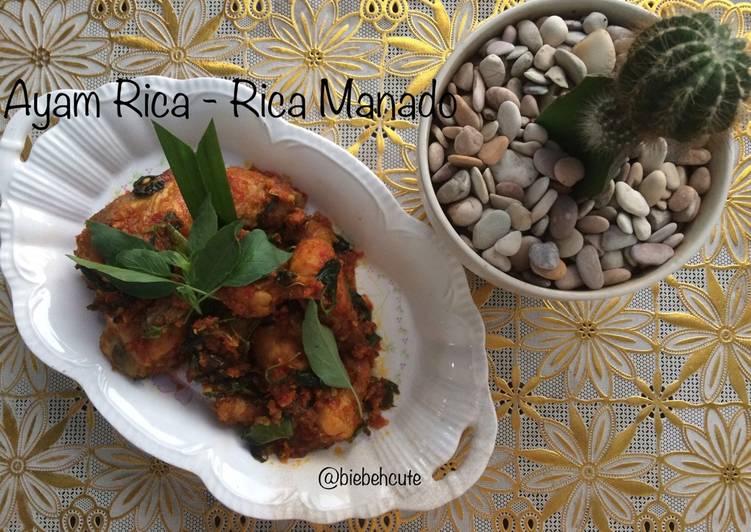 Ayam Rica - Rica Manado