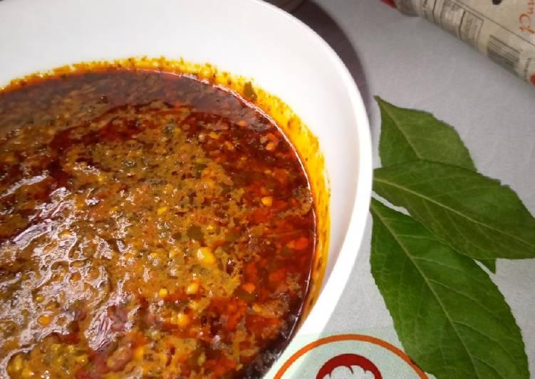 10 Minute Easiest Way to Prepare Homemade Bitterleaf soup