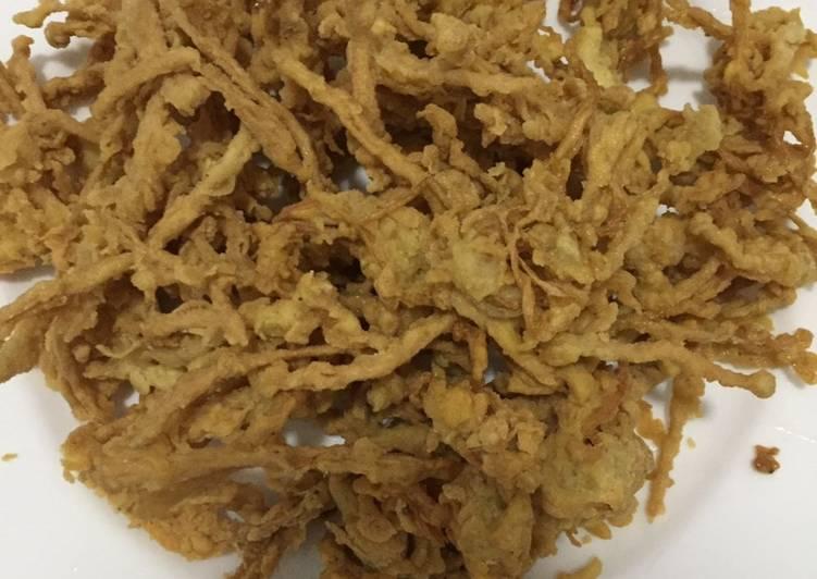 Crispy Enoki Mushroom ala Ta Wan - cookandrecipe.com