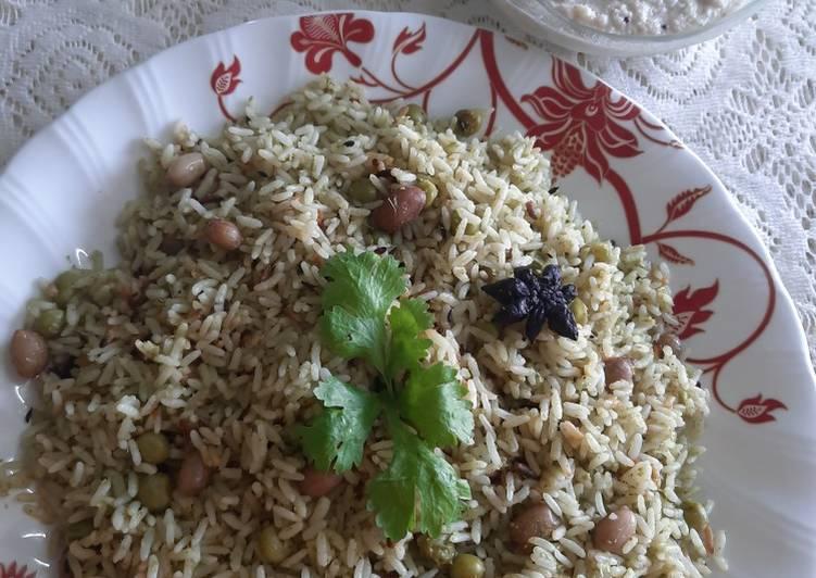 Top 100 Dinner Easy Vegan Pudina Rice (Mint leaves Rice)