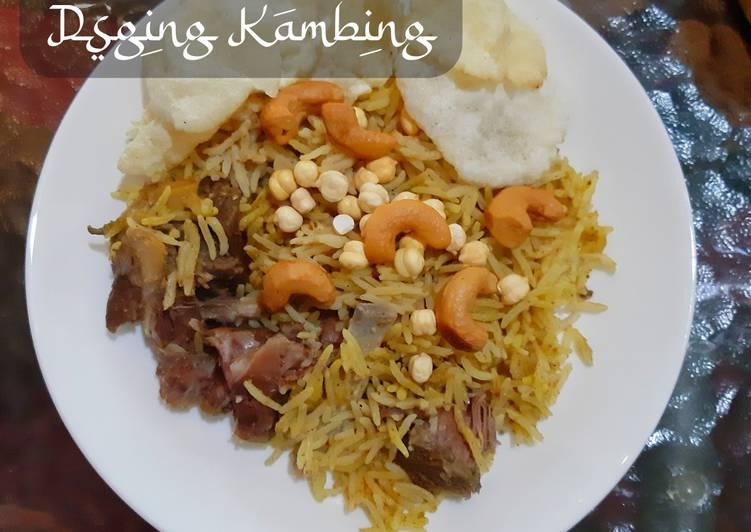 Nasi Briyani Daging Kambing