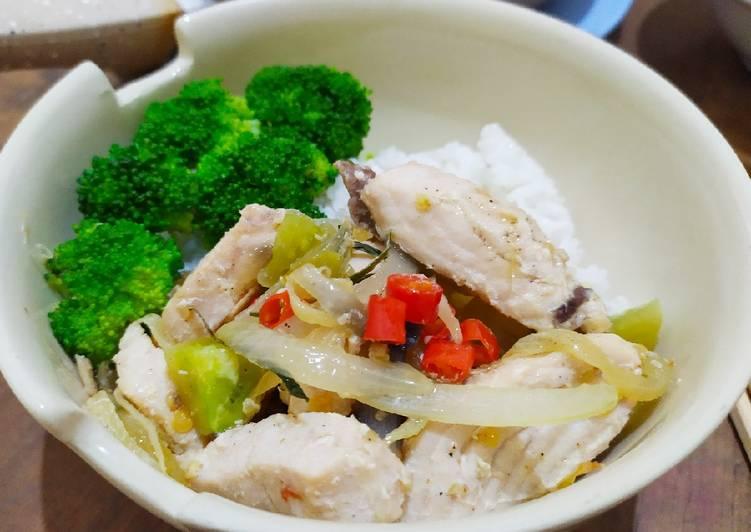 Tuna Bawang Ricebowl #supereasy