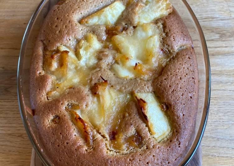 Pain de Genes - Apple & Almond Cake