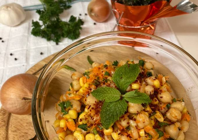 Chickpeas Salad/Salad Kacang Arab