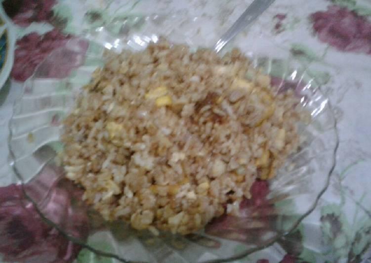 Nasi Goreng SAT(Sayur Capcay, Asam Pade, dan Tahu)