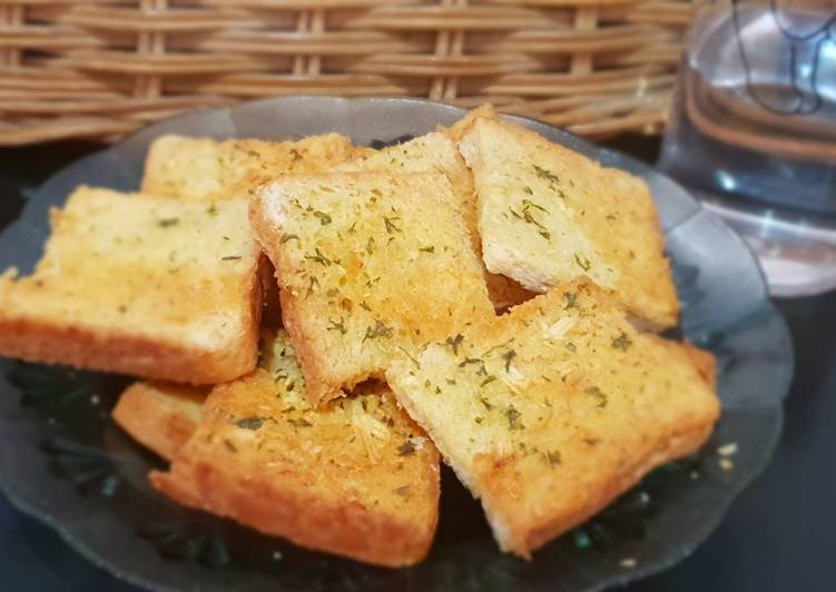 Resep Garlic bread ala-ala Favorit